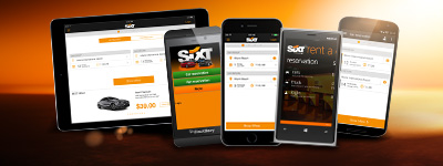 Discover the Sixt Apps
